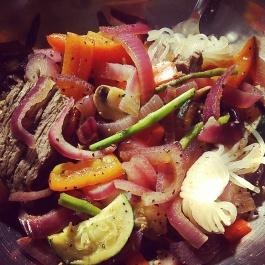 Kelp Noodle Stir Fry