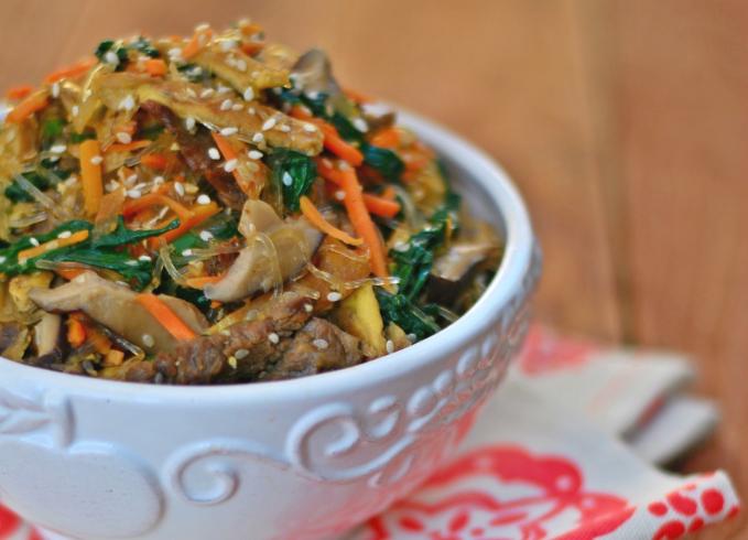 Jap Chae Stir Fry Noodles Paleo Foodie Kitchen.png