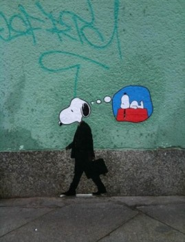 working-snoopy-380x500