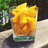 Chunks of Mango :D